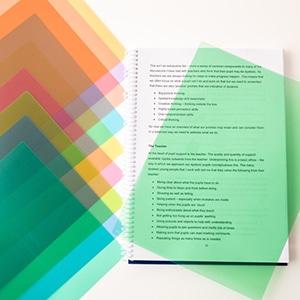Coloured overlays