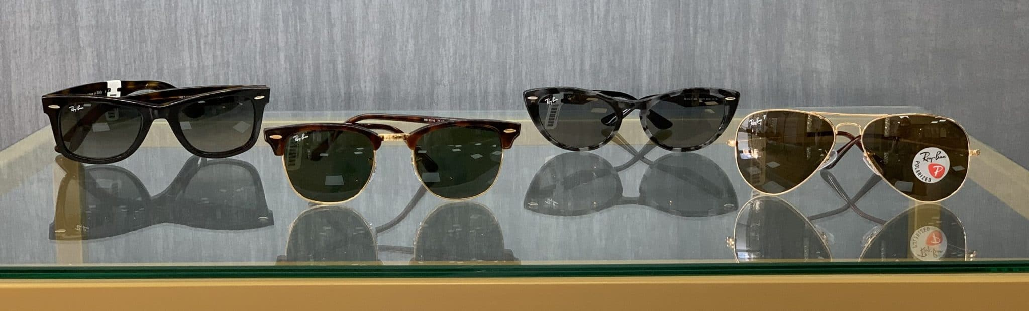 Sunglasses - four pairs of Ray-Ban sunglasses at Observatory Wardale Williams