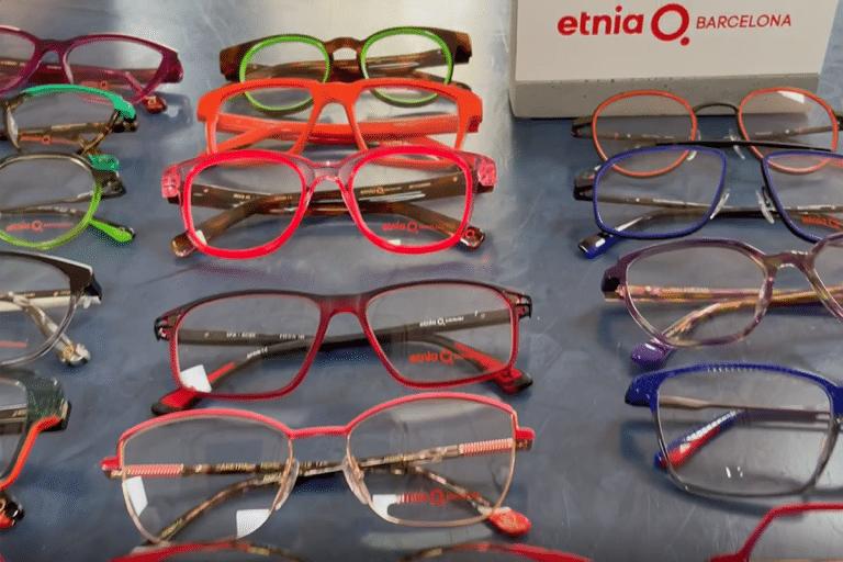 Eyewear Trends - colourful frames by Etnia